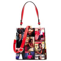 Red Michelle Obama Magazine Handbag - MB5824