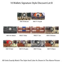 10 Wallets Economy Lot - B