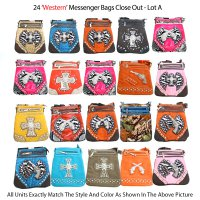 24 Messenger Western Collection Close Out - Lot A
