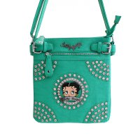 Mint Betty Boop Hobo Handbag - B15L460