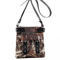 Black Western Realtree Camouflage Messenger Bag - RT1-8535A MAX4