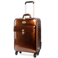 Bronze Euro Moda Carry-On Luggage - KBL8899