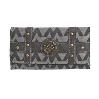 Gray M-Style Wallet - KW331