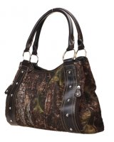 Brown Camouflage Shoulder Bag - 1440