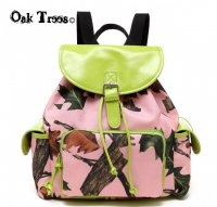 Lime Leaves N Trees Backpack - PML5 5252