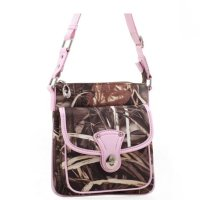 Pink Western Realtree Camouflage Messenger Bag - RT1-1166CP APG