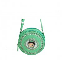 Mint Betty Boop Messenger Bag - B14X-2070