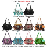 10 Handbags Western Collection - Lot C
