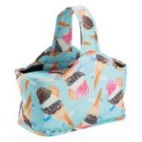 Ice Cream Small Insulated Thermal Picnic Basket - ETKPB