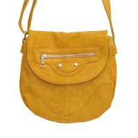Yellow Fashion Messenger Bag - 6836