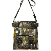 Black Western Realtree Camouflage Messenger Bag - RT1-8535A APG