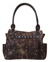 Brown Camouflage Shoulder Bag - 1442