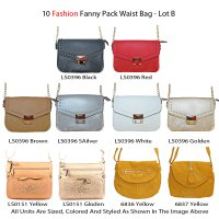 10 Fashion Messenger Bags - Lot B