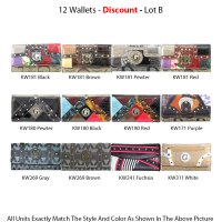 12-Wallets - Economy Lot B