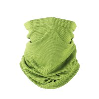 Lime Half Face Dust Mask & wear in different ways - TS01