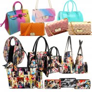 Magazine Printed Handbags