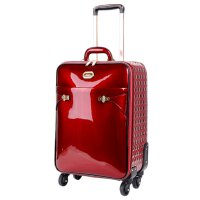 Red Tri-star Elegant Carry-On Luggage - KZL8899