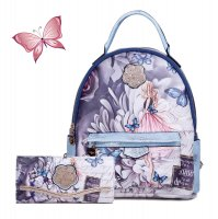 Blue Arosa Dreamers Backpack and Wallet - BFB8939-BFW8682