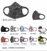 11 Pack Adult Unisex Face Mouth Mask - MS01