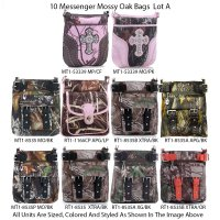 10 Mossy Oak Messenger Bags - Lot A